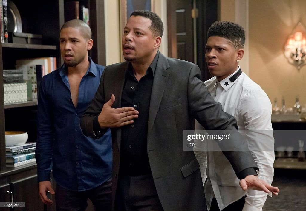 Jamal and Hakeem listen to Lucious make a confession in the 'Sins of the Father' episode of EMPIRE airing Wednesday March 11 on FOX