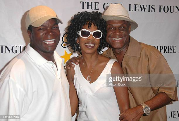 AJ Jamal Brooks and Michael Colyar during KiKi Shepard's 4th Annual Celebrity Bowling Challenge'06 at PINZ Entertainment Center/Guy's North in Studio...