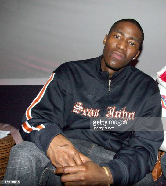 Jamal Crawford during LeBron James PostGame After Party April 5 2006 at BED in New York City New York United States