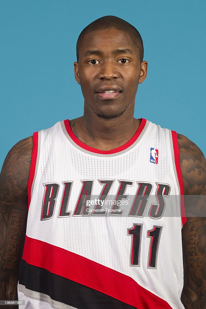 <a gi-track='captionPersonalityLinkClicked' href=/galleries/search?phrase=Jamal+Crawford&family=editorial&specificpeople=201851 ng-click='$event.stopPropagation()'>Jamal Crawford</a> #11 of the Portland Trail Blazers poses for a portrait during Media Day on December 16, 2011 at the Rose Garden Arena in Portland, Oregon.