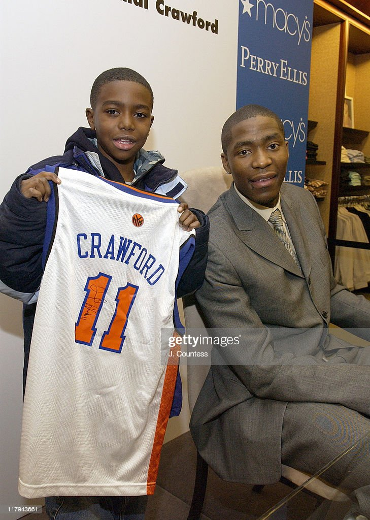 <a gi-track='captionPersonalityLinkClicked' href=/galleries/search?phrase=Jamal+Crawford&family=editorial&specificpeople=201851 ng-click='$event.stopPropagation()'>Jamal Crawford</a> poses with DaQuan Merritt during Perry Ellis and Travel & Leisure Magazine Host In-Store Appearance by NBA Star <a gi-track='captionPersonalityLinkClicked' href=/galleries/search?phrase=Jamal+Crawford&family=editorial&specificpeople=201851 ng-click='$event.stopPropagation()'>Jamal Crawford</a> at Macy's Herald Square in New York City, New York, United States.