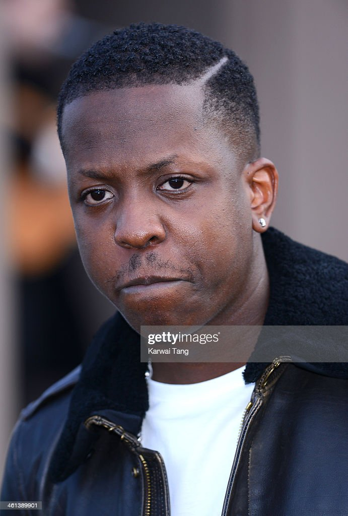 Jamal Edwards attends the Burberry Prorsum show during The London Collections: Men Autumn/Winter 2014 held at Kensington Gardens on January 8, 2014 in London, England.