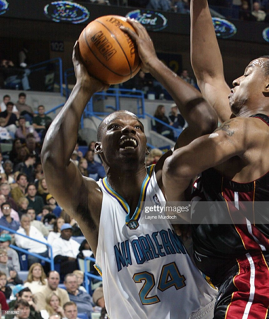 Miami Heat v New Orleans Hornets s and