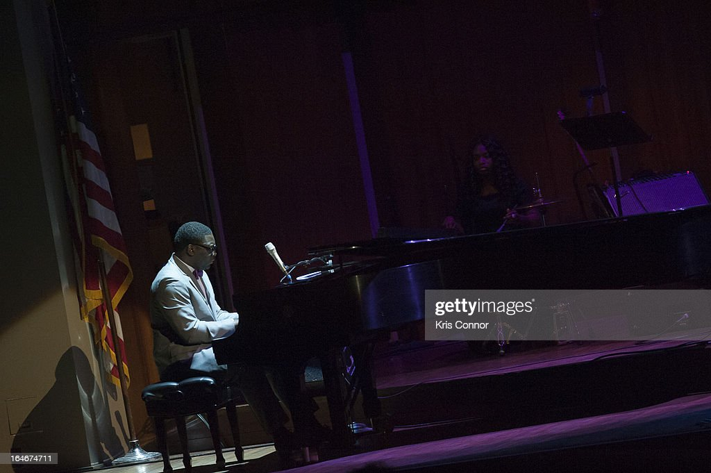 Jamar Jones performs during 6th Annual Performance Series of Legends at The John F. Kennedy Center for Performing Arts on March 25, 2013 in Washington, DC.