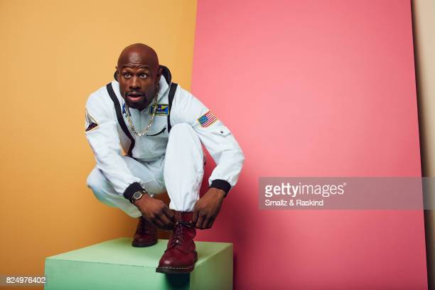 Jamar Malachi Neighbors of Viceland's 'What Would Diplo Do' poses for a portrait during the 2017 Summer Television Critics Association Press Tour at...