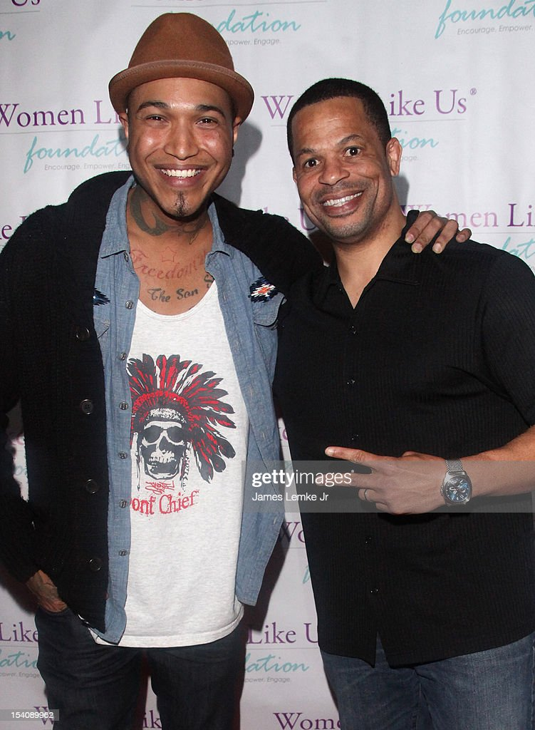 Jamar Rogers and <a gi-track='captionPersonalityLinkClicked' href=/galleries/search?phrase=Robert+Ferguson&family=editorial&specificpeople=171825 ng-click='$event.stopPropagation()'>Robert Ferguson</a> attend the 'Girls Are Worth It' health fair and fundraiser for the Women Like Us Foundation at Level 3 club in Hollywood & Highland Center on October 13, 2012 in Hollywood, California.