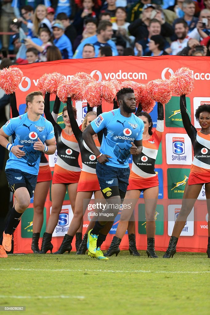 Jamba Ulengo of the Bulls during the Super Rugby match between the Vodacom Bulls and Emirates Lions at Lotus Versfeld Stadium on May 28, 2016 in Pretoria, South Africa.