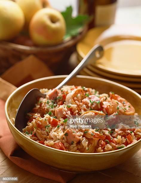 Jambalaya rice pilaf