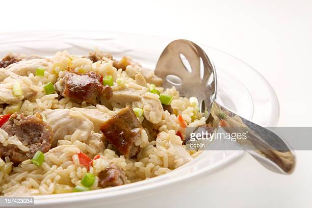 Jambalaya with Chicken, Rice, and Sausage