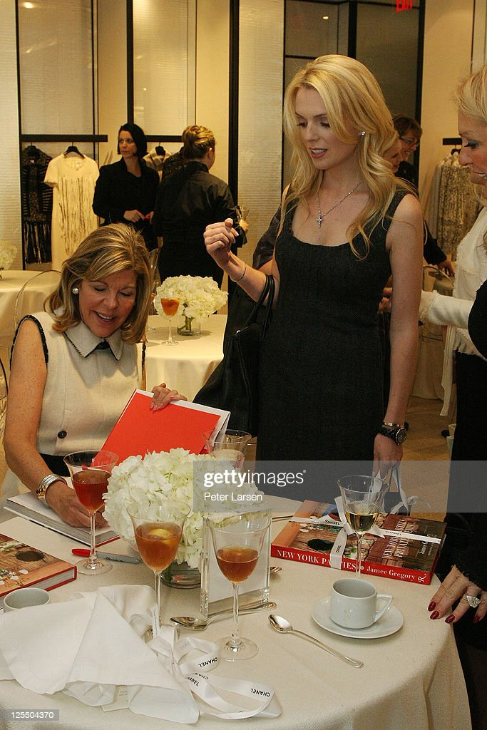 Jamee Gregory and Kari Schlegel attend the Jamee Gregory Book Signing Event at Chanel Boutique Dallas on December 2, 2010 in Dallas, Texas.