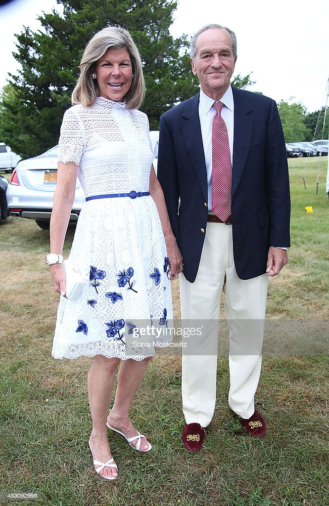 Jamee Gregory and Peter Gregory attend the Southampton Hospital's 56th Annual 'Endless Summmer' party on August 2, 2014 in Southampton, New York.