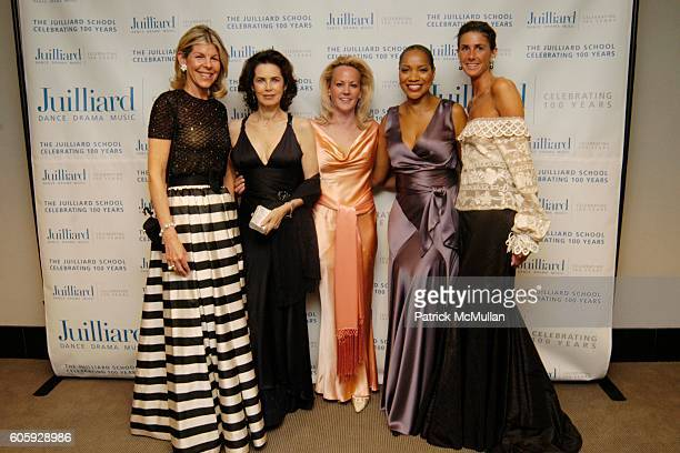 Jamee Gregory Muffie Potter Aston Grace Hightower and Summers Farkas attend The JUILLIARD Centennial Gala Live at Lincoln Center at The Juilliard...