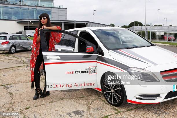 Jameela Jamil at MercedesBenz World on May 31 2014 in Weybridge England
