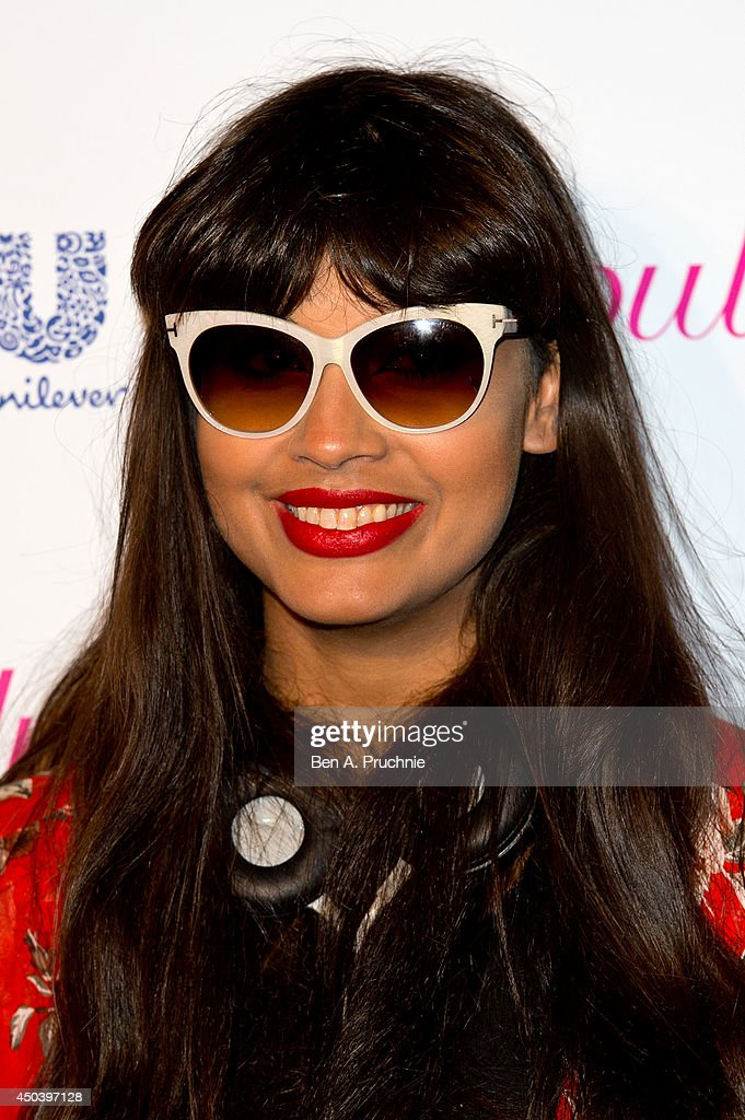 <a gi-track='captionPersonalityLinkClicked' href=/galleries/search?phrase=Jameela+Jamil&family=editorial&specificpeople=5441115 ng-click='$event.stopPropagation()'>Jameela Jamil</a> attends Superdrug's 50th anniversary party at The Bankside Vaults on June 10, 2014 in London, England.