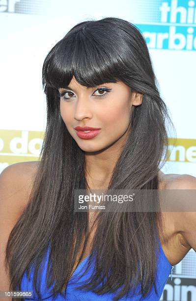 Jameela Jamil attends the Barbican's '101 things to do this summer' season launch party at Barbican Centre on June 3 2010 in London England