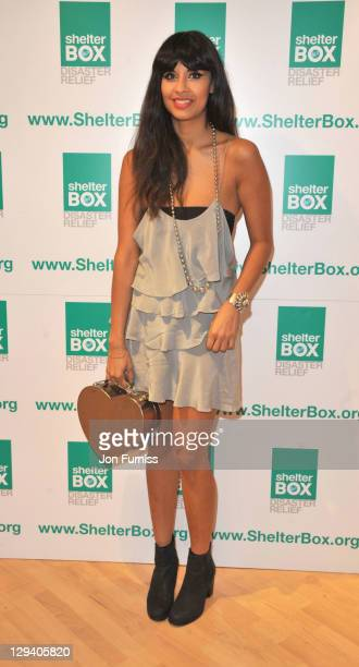 Jameela Jamil attends the launch of the ShelterBox charity popup shop on June 9 2011 in London England