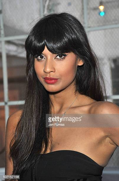 Jameela Jamil attends the Sony NEX launch at The Vinyl Factory Gallery on June 16 2010 in London England