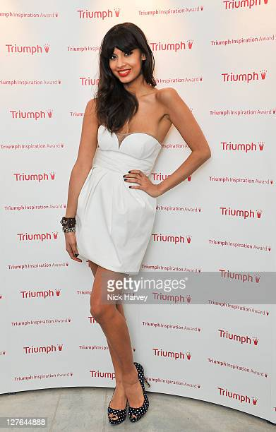 Jameela Jamil attends the Triumph Inspiration Awards 2011 on March 31 2011 in London England