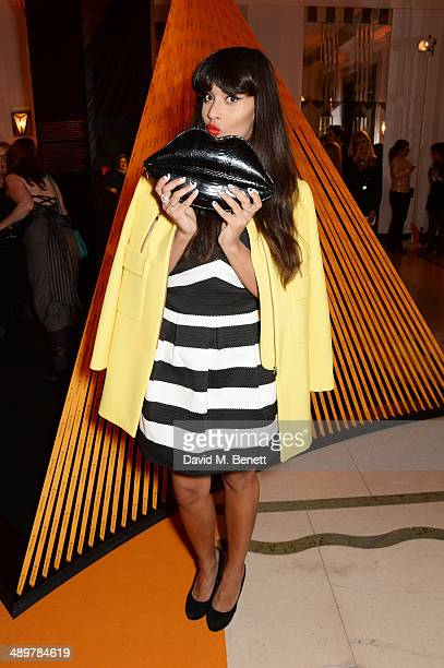 Jameela Jamil attends the Veuve Clicquot Business Woman Award at Claridges Hotel on May 12 2014 in London England