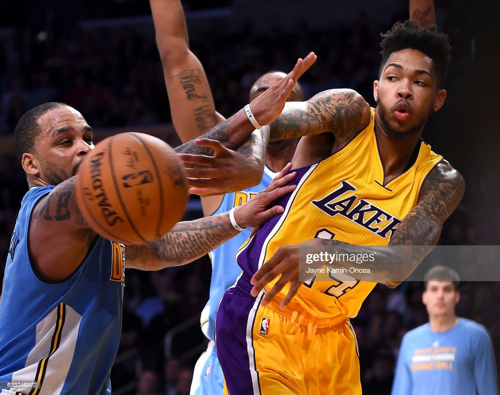 Denver Nug s v Los Angeles Lakers s and