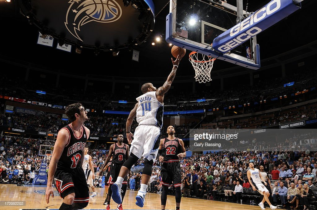 <a gi-track='captionPersonalityLinkClicked' href=/galleries/search?phrase=Jameer+Nelson&family=editorial&specificpeople=202057 ng-click='$event.stopPropagation()'>Jameer Nelson</a> #14 of the Orlando Magic shoots a layup during a game on January 2, 2013 at Amway Center in Orlando, Florida.