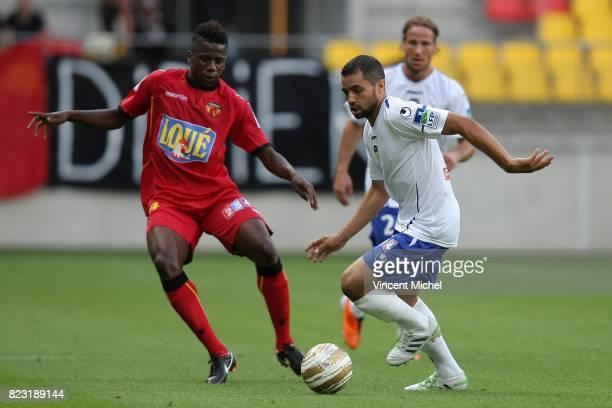 Jamel AIT BEN IDIR / Patrick EKENG EKENG Le Mans / Arles Avignon Coupe de la Ligue 2011/2012