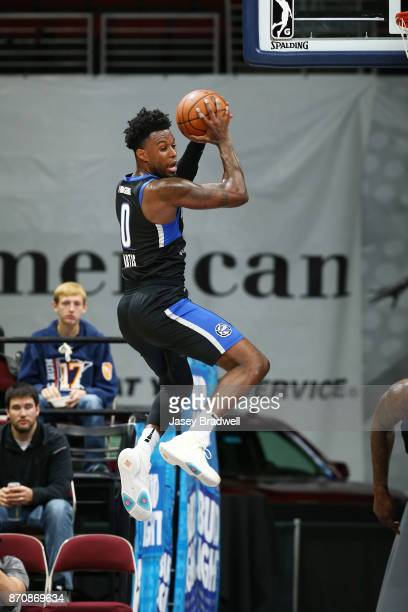 Jamel Artis of the Lakeland Magic pulls down a rebound against the Iowa Wolves in an NBA GLeague game on November 4 2017 at the Wells Fargo Arena in...