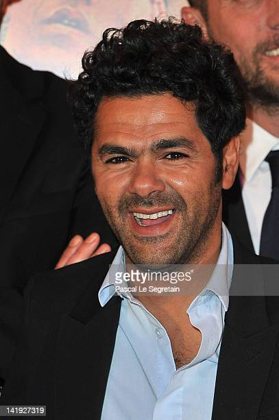 Jamel Debbouze attends 'Sur La Piste Du Marsupilami' Premiere at Gaumont Champs Elysees on March 26 2012 in Paris France