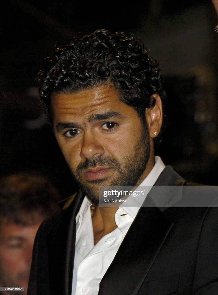 <a gi-track='captionPersonalityLinkClicked' href=/galleries/search?phrase=Jamel+Debbouze&family=editorial&specificpeople=606837 ng-click='$event.stopPropagation()'>Jamel Debbouze</a> during 2006 Cannes Film Festival - 'Indigenes' Premiere -Departures at Palais des Festival in Cannes, France.