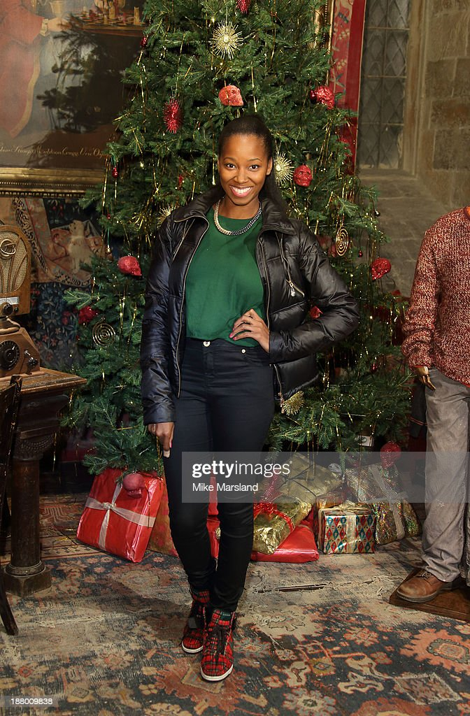 <a gi-track='captionPersonalityLinkClicked' href=/galleries/search?phrase=Jamelia&family=editorial&specificpeople=171461 ng-click='$event.stopPropagation()'>Jamelia</a> attends Hogwarts In The Snow VIP Preview at Warner Bros Studios on November 14, 2013 in London, England.
