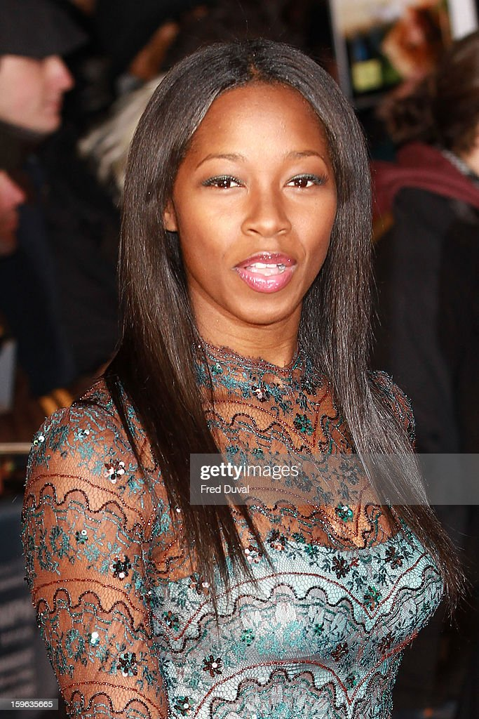Jamelia attends the UK Premiere of 'Flight' at The Empire Cinema on January 17, 2013 in London, England.