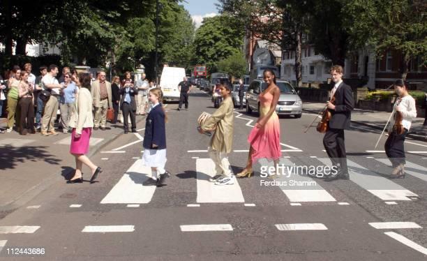 Jamelia during Music Manifesto Launch at Abbey Road Studios in London United Kingdom