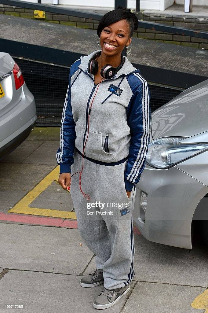 <a gi-track='captionPersonalityLinkClicked' href=/galleries/search?phrase=Jamelia&family=editorial&specificpeople=171461 ng-click='$event.stopPropagation()'>Jamelia</a> sighted at ITV Studios on February 3, 2014 in London, England.