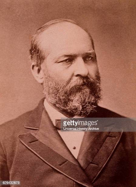 James A Garfield 20th President of the United States Assassinated July 2 Albumen Photograph circa 1880
