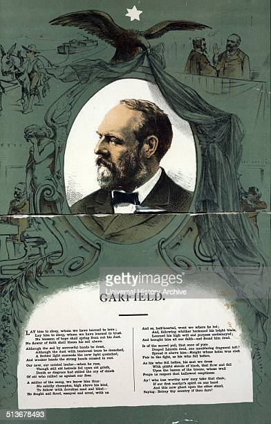 James A Garfield with scenes from his life and death and selections of verse Garfield served as the 20th President of the United States after...