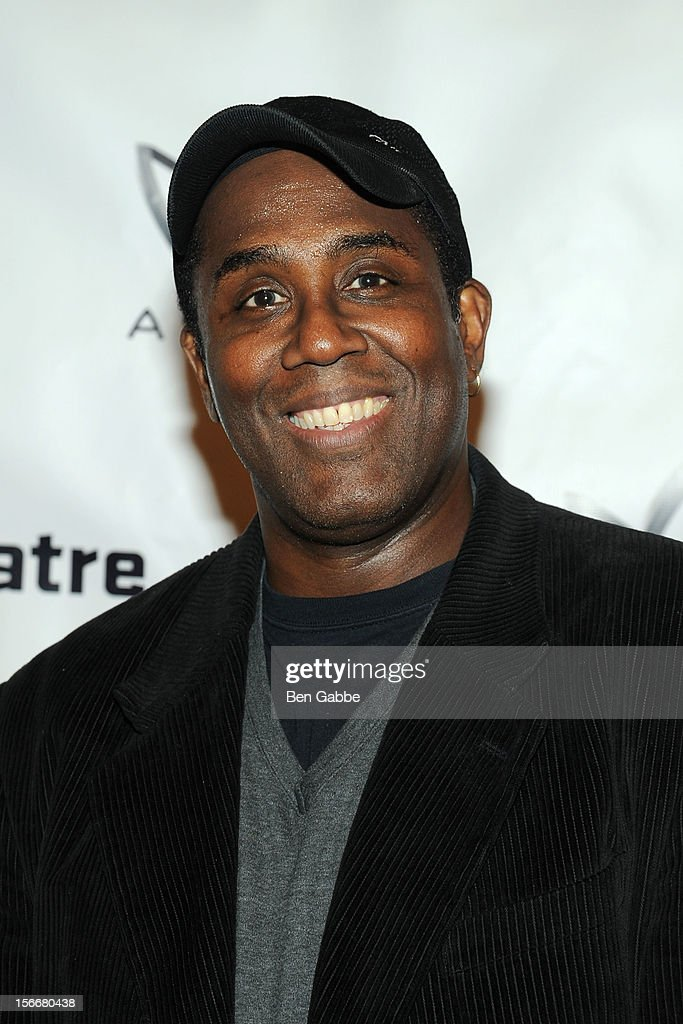 James A. Williams attends 'The Piano Lesson' Opening Night Party at Signature Theater Company's Peter Norton Space on November 18, 2012 in New York City.