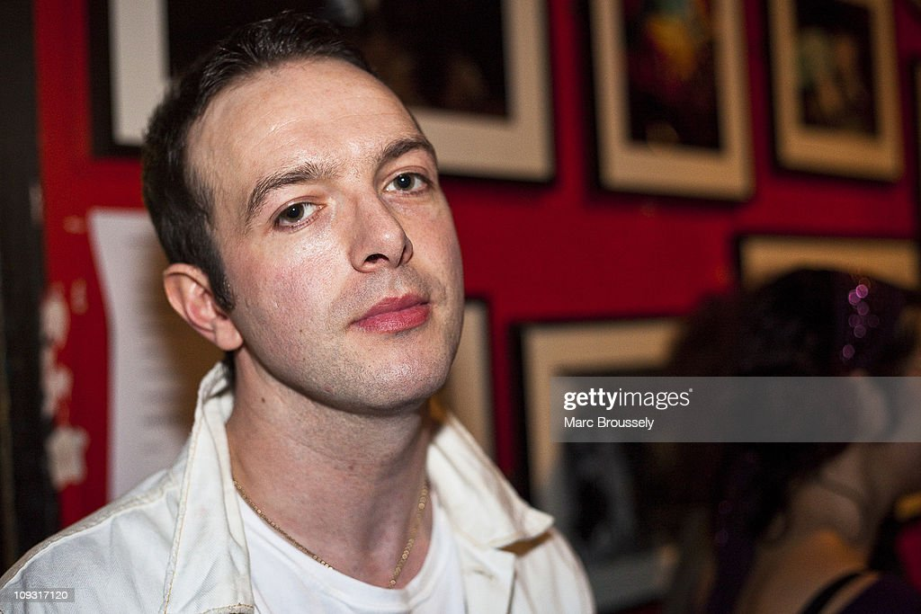James Allan of Glasvegas poses for portraits at Carl Barat's performance for the Shockwaves NME Awards Show at The 100 Club on February 20, 2011 in London, England.