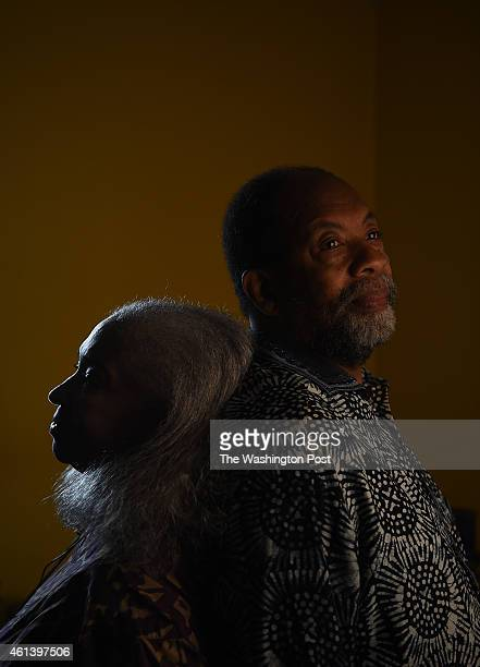 James and Miriam Early both 67 years old at their family home in Washington DC November 15 2014 James Early is the director of cultural heritage...