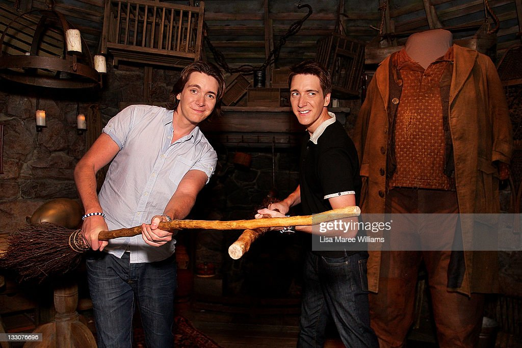 Weasly Brothers Attend Harry Potter Exhibition Opening