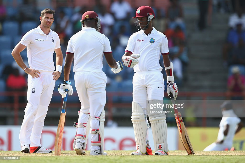 West Indies v England - 2nd Test: Day Four