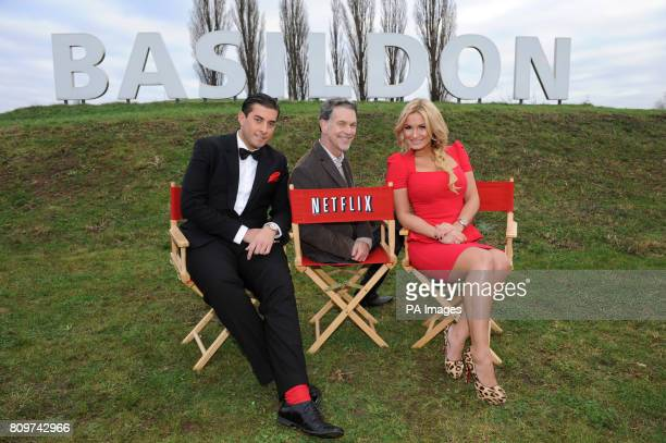 James 'Arg' Argent and Sam Faiers from The Only Way Is Essex join Netflix CEO Reed Hastings to bring a bit of Hollywood glamour to Basildon at the...