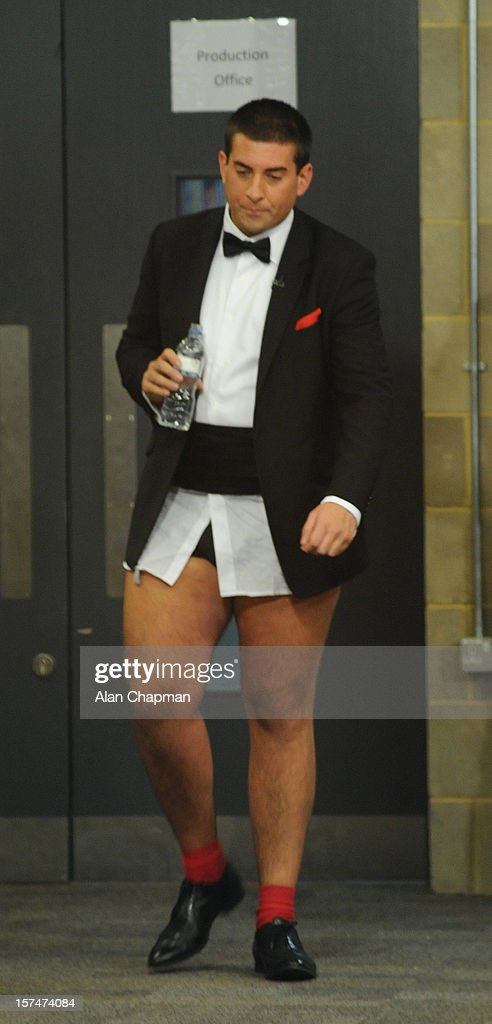 James Argent sighting at TOWIE live on December 3, 2012 in London, England.
