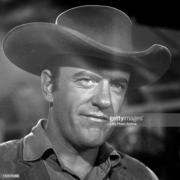 James Arness as Marshal Matt Dillon in the GUNSMOKE episode 'Peace Officer' Image dated June 22 1960