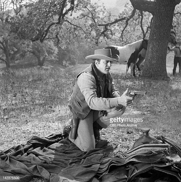 James Arness as Marshal Matt Dillon in the GUNSMOKE episode 'The Badge' Image dated April 21 1960