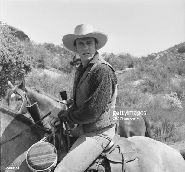James Arness in episode 'Alarm at Pleasant Valley' June 27 1956