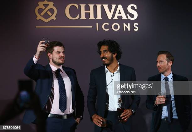 James ArneyActor Dev Patel and Jeremy Lawrence is photographed during Chivas Icons at The H Hotel on May 2 2017 in Dubai United Arab Emirates Actor...