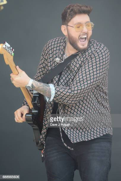 James Arthur attends Day 1 of BBC Radio 1's Big Weekend 2017 at Burton Constable Hall on May 27 2017 in Hull United Kingdom