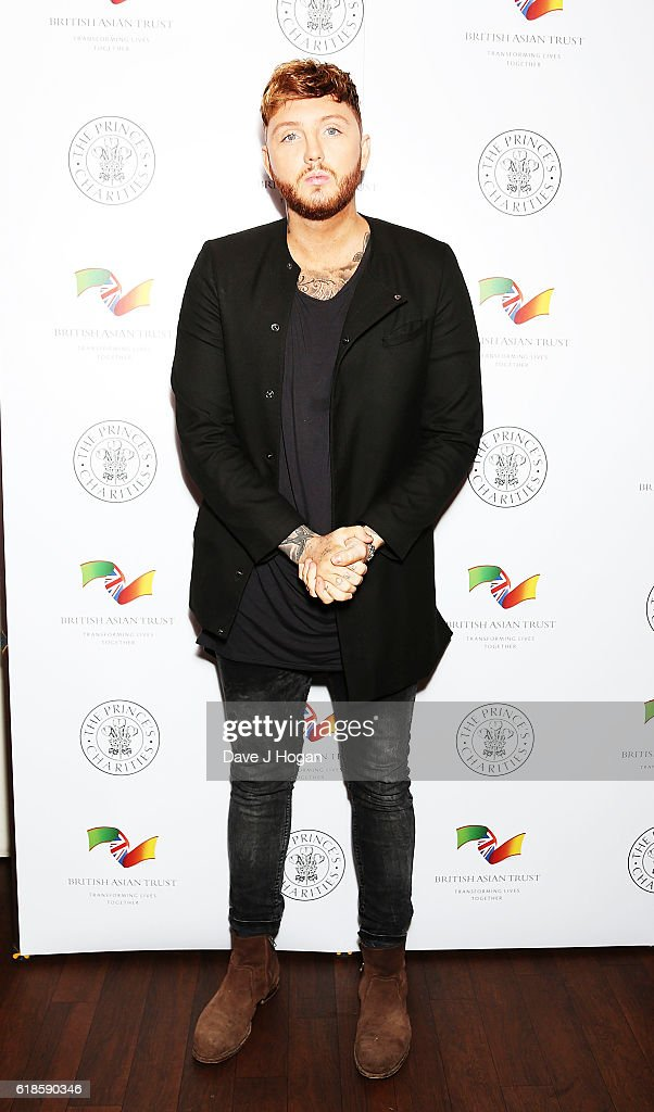 James Arthur attends the annual Elbrook Gala Dinner in aid of The British Asian Trust and their newly launched 'Give A Girl A Future' appeal, at Chak 89 on October 27, 2016 in Mitcham, United Kingdom.