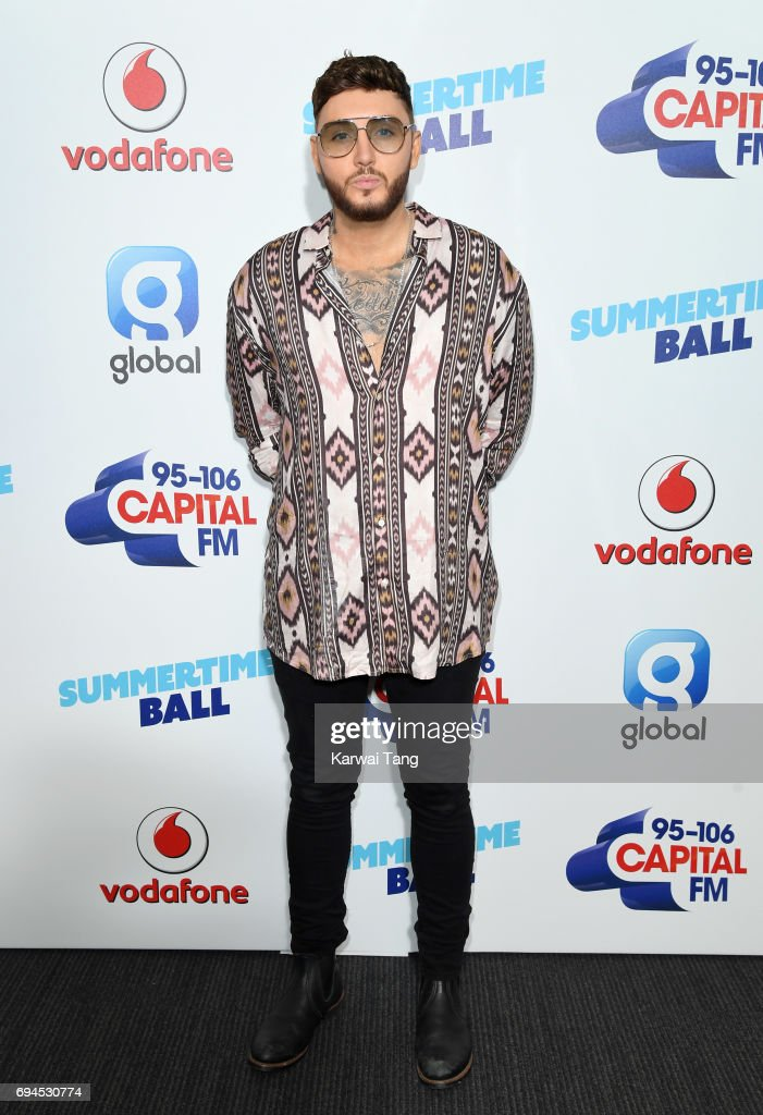 James Arthur attends the Capital Summertime Ball at Wembley Stadium on June 10, 2017 in London, United Kingdom.