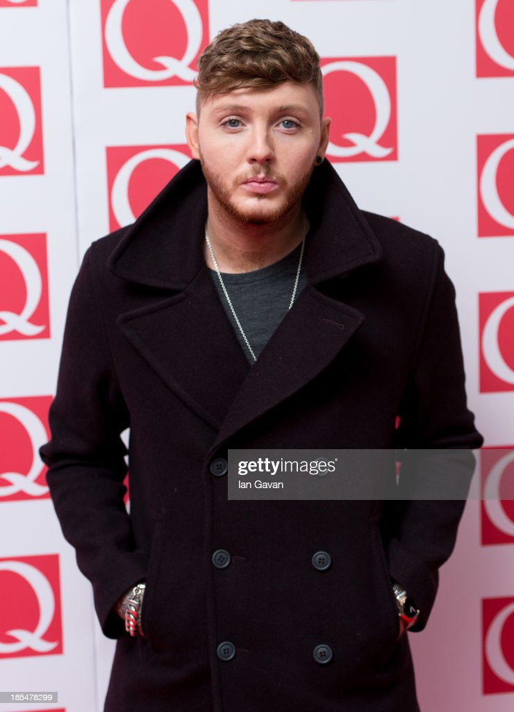 James Arthur attends The Q Awards at The Grosvenor House Hotel on October 21, 2013 in London, England.
